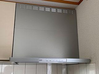 2021年6月11日、横浜市保土ヶ谷区にお住まいのN様宅のレンジフードをリンナイ「XGRシリーズ」XGR-REC-AP753SVに交換させていただきました。